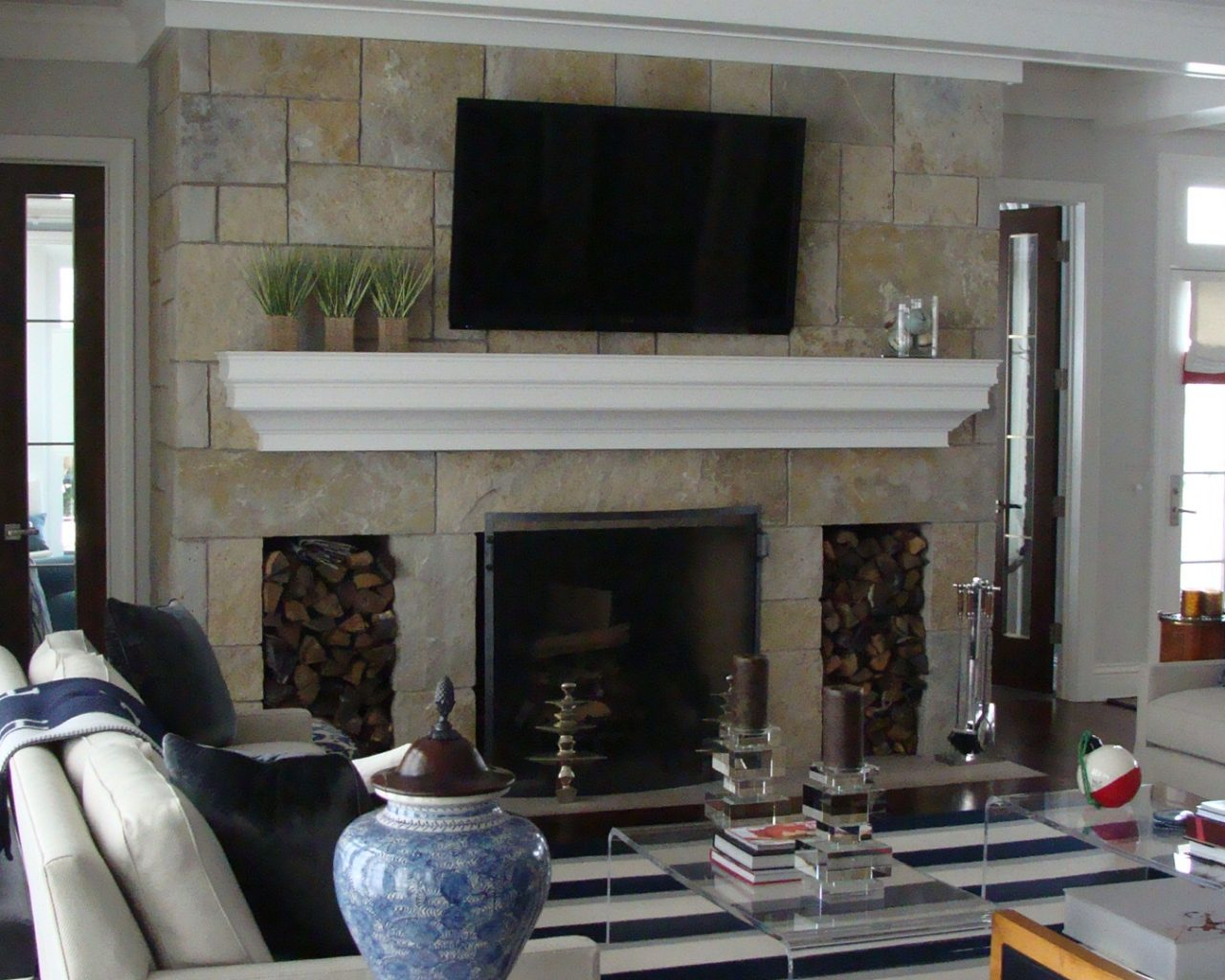 Excelsior - Sister Bay Stone Indoor Fireplace