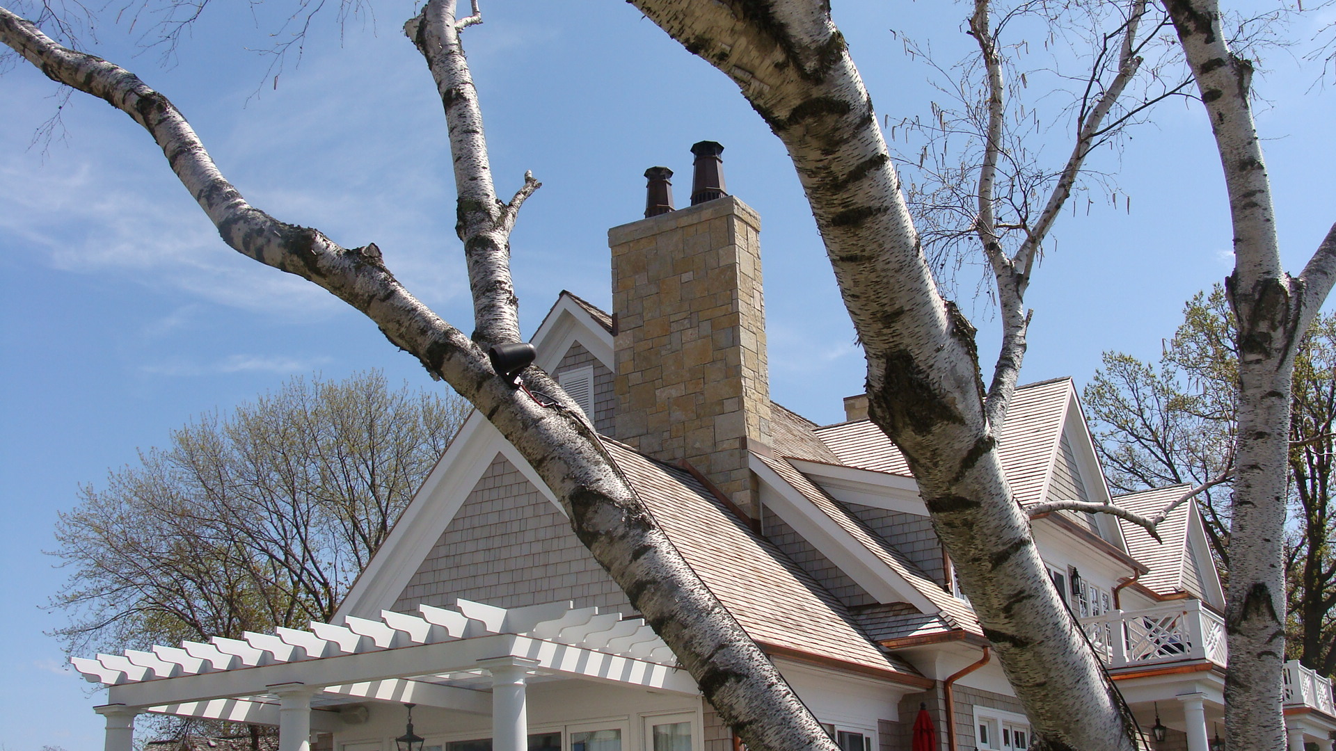 Lake Minnetonka, Wayzata - New Fireplace Chimney